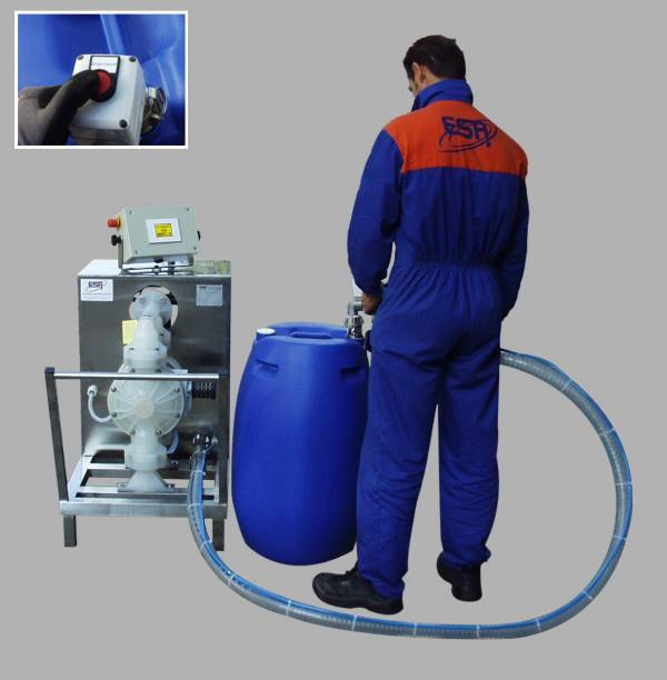 Mobile Drum Filling Machine