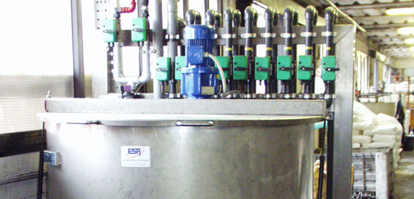 Automatic dosage system chemicals products Dosamix